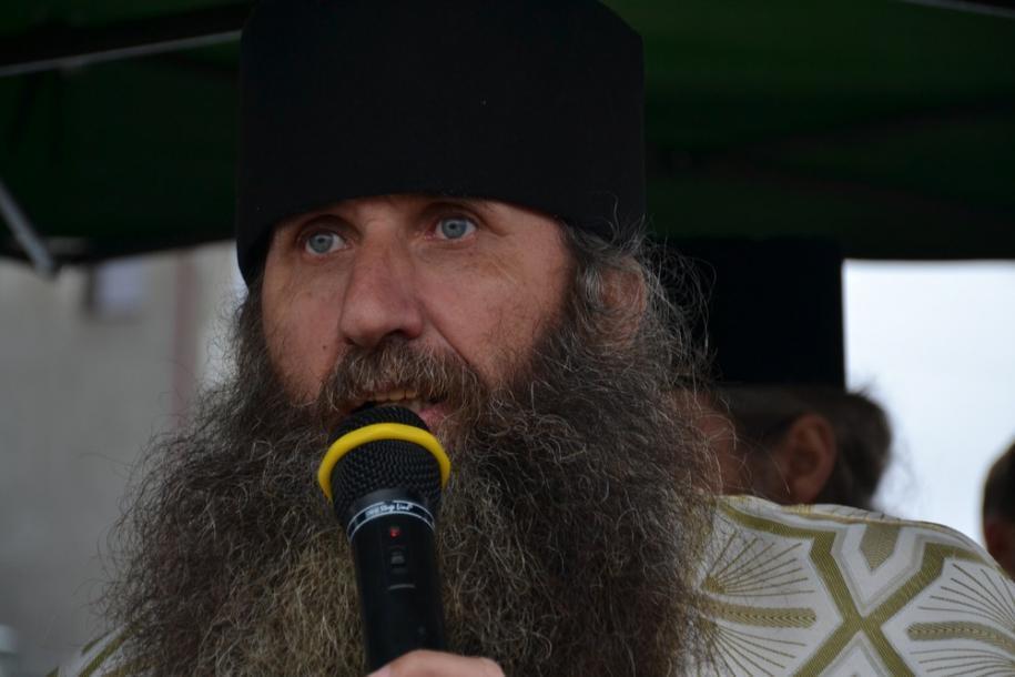 Preot Gheorghe Păltinel/ Foto: Lucian Ducan