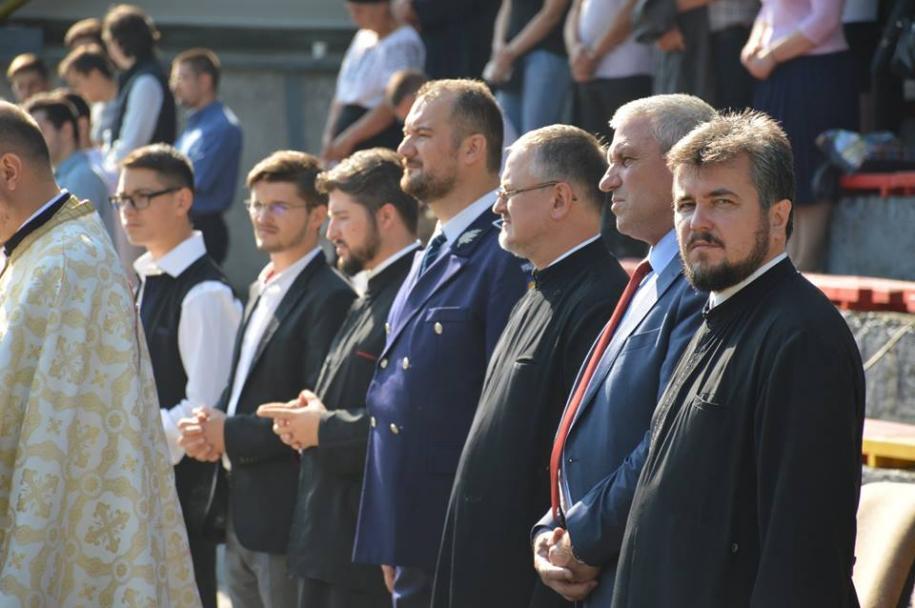 """Deschiderea anului școlar la Seminarul """"Sfântul Gheorghe"""" - Botoșani"""