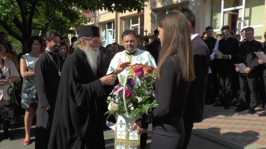"""Deschiderea anului școlar la Seminarul """"Mitropolitul Dosoftei"""" - Suceava"""
