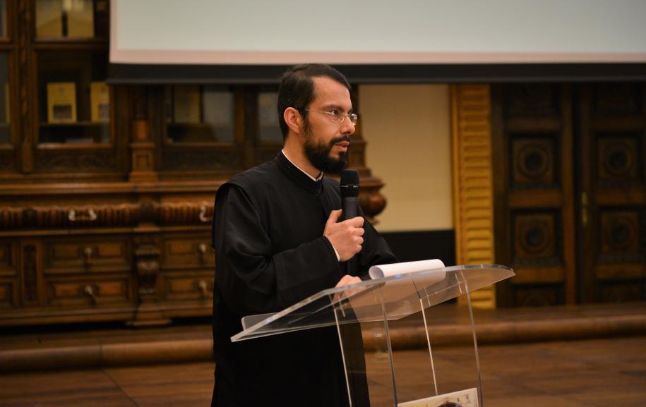 Pr. George Jambore, inspector în cadrul Sectorului Teologic Educaţional al Administraţiei Patriarhale