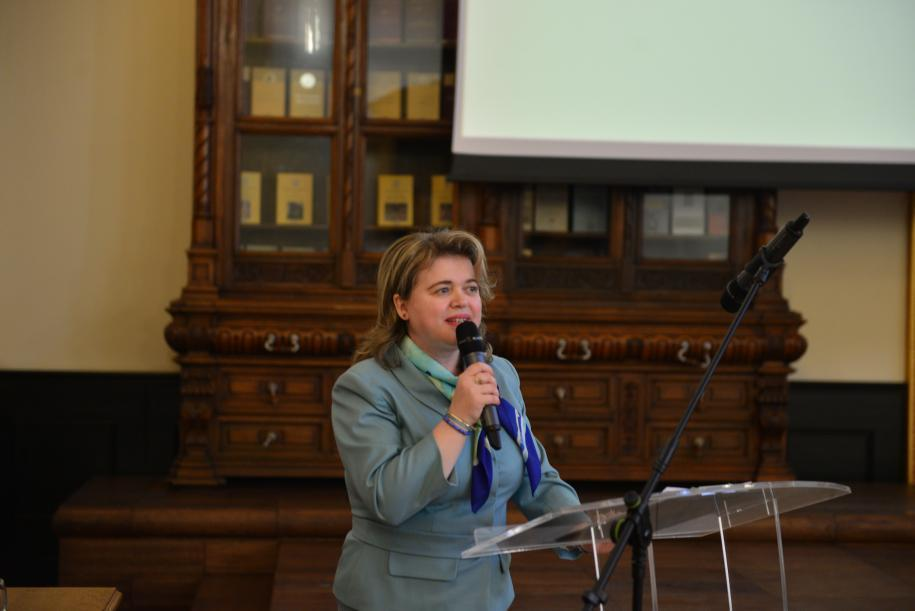 Prof. dr. Denisia Elena Mănoiu, inspector şcolar pentru religie în cadrul ISJ Iaşi