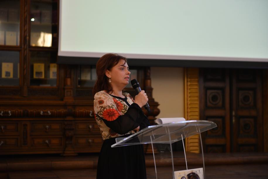 Prof. dr. Genoveva Aurelia Farcaş, inspector şcolar general al ISJ Iaşi