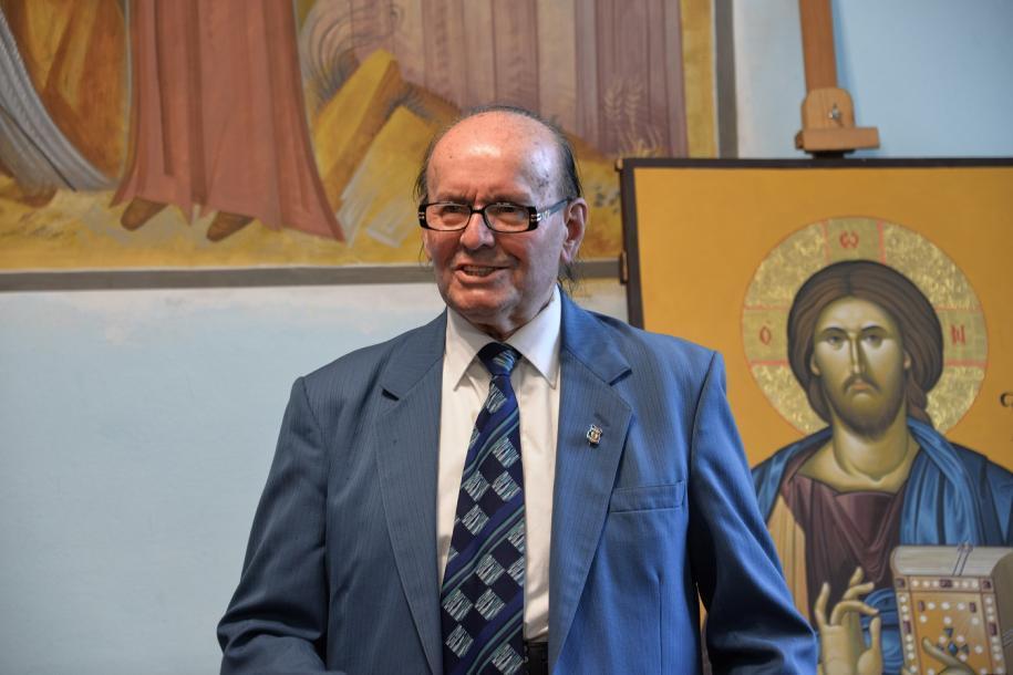 Profesorul Constantin Străchinaru/ Fotografii: Tudorel Rusu