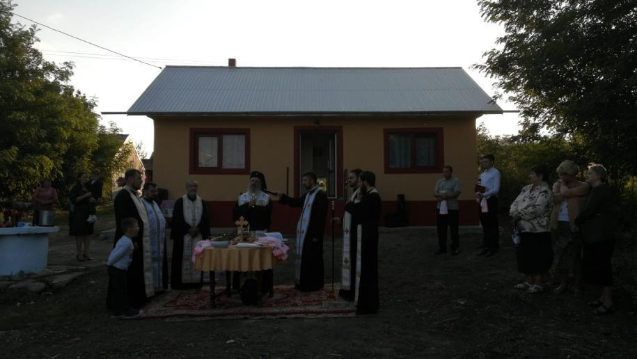 Slujba de sfințire a noii locuințe