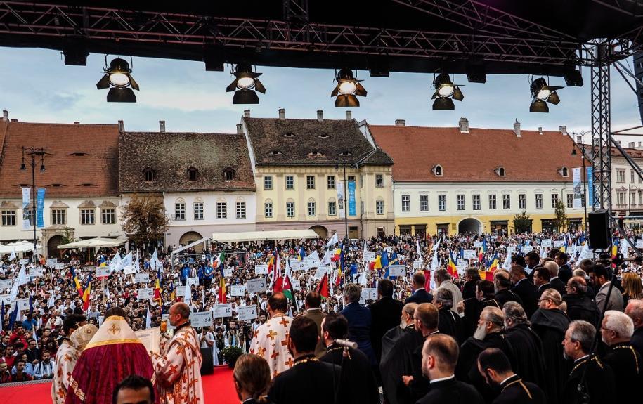 Întâlnirea Internațională a Tinerilor Ortodocși - Sibiu 2018