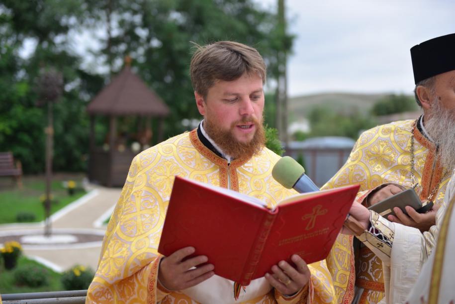 Preotul Laurențiu Hapenciuc/ Foto: Lucian Ducan