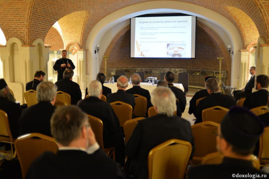 Astăzi a avut loc Conferința preoților misionari de cimitir din Eparhia Iașilor / foto: Flavius Popa