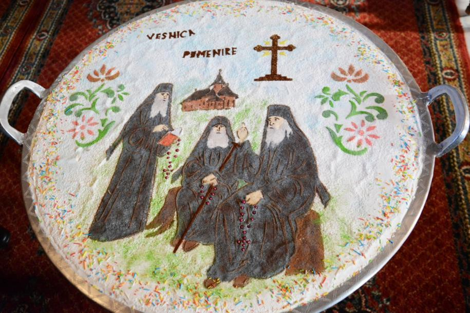 Parastas pentru părinții Mănăstirii Sihăstria / foto: Flavius Popa