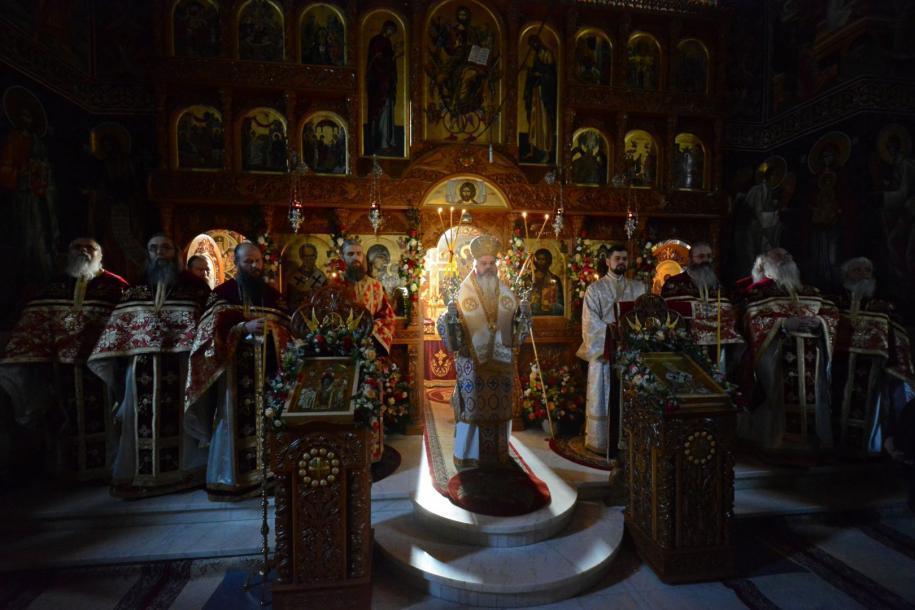 Mănăstirea Popăuți din Botoșani și-a cinstit ocrotitorul spiritual / foto: Flavius Popa