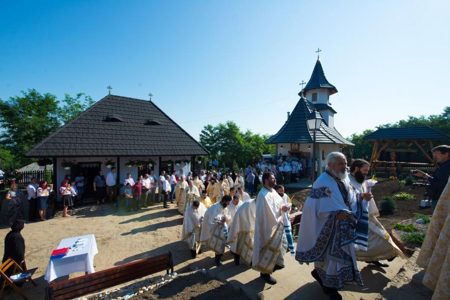 """Ansamblul Schitului """"Sfântul Ioan Iacob"""" de la Horodiștea/ Fotografii: Tudorel Rusu"""